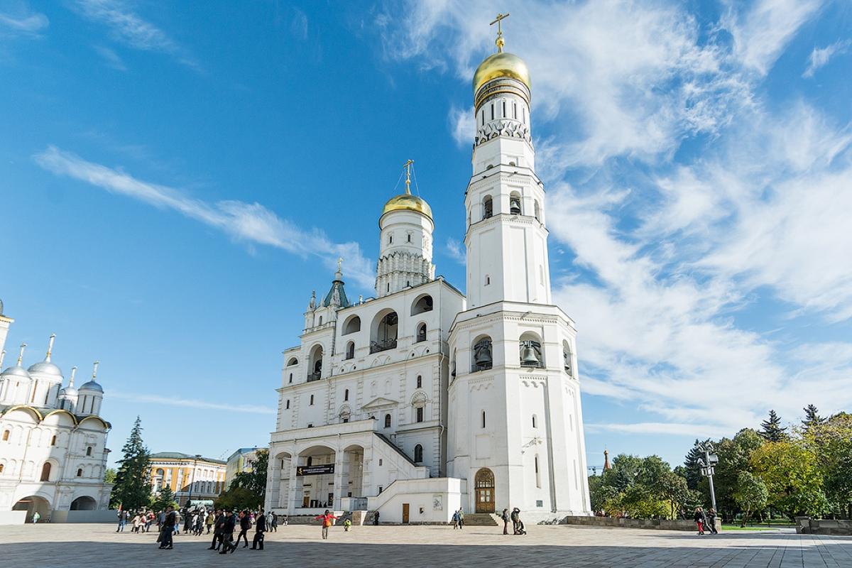 Фотография колокольни Ивана Великого