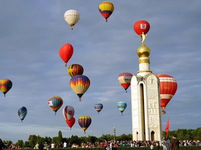 Фестиваль аэростатов «Небосвод Белогорья»