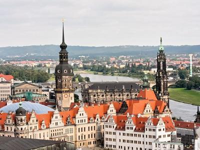 В Дрезден из Праги в мини-группе