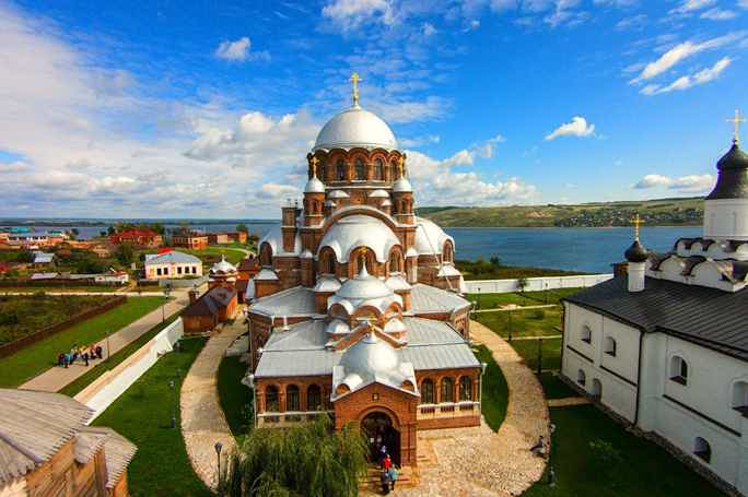 Форпост Ивана Грозного — остров-град Свияжск