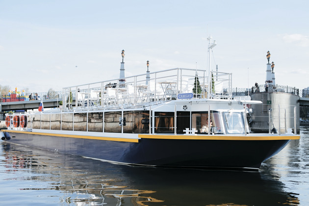 Калининград — Морской канал на теплоходе