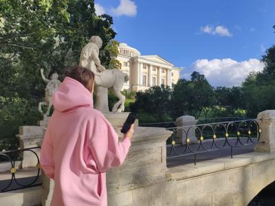 Аудиоэкскурсия в приложении: Загадки Павловского парка