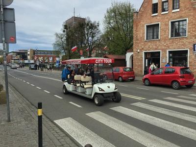Экскурсия по Гданьску на электромобиле