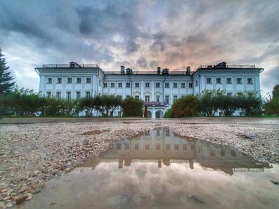 Усадьба в Полотняном заводе, где бывал А. С. Пушкин
