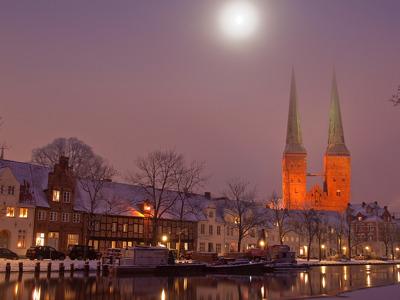 Любек — столица Ганзы на берегу Балтики