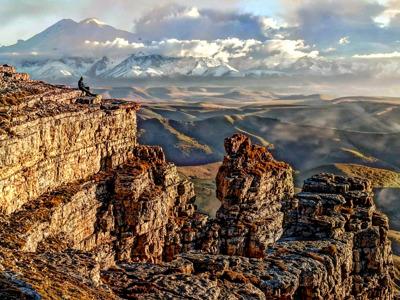 На плато Бермамыт в мини-группе из Железноводска