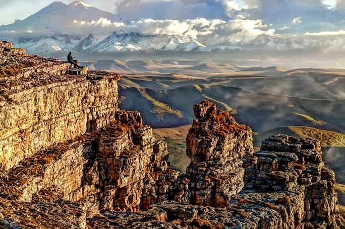 На плато Бермамыт в мини-группе