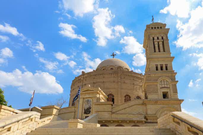 Старый Каир и висячая церковь