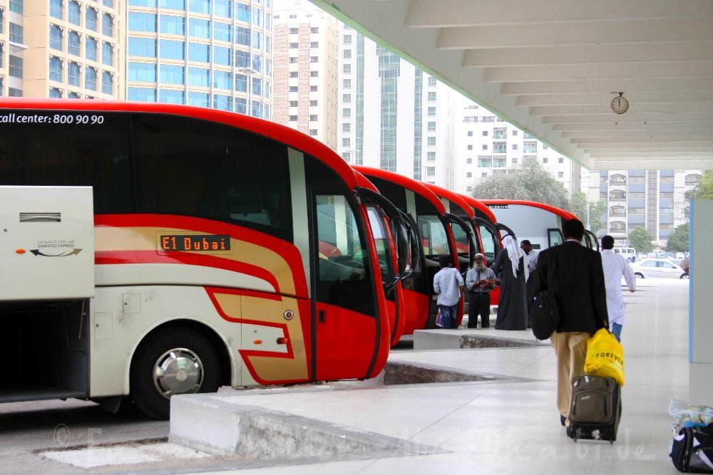 дубай абу даби автобус
