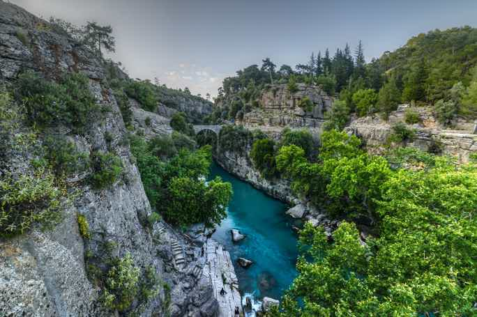Самый высокий каньон Анталии: природный заповедник Кёпрюлю