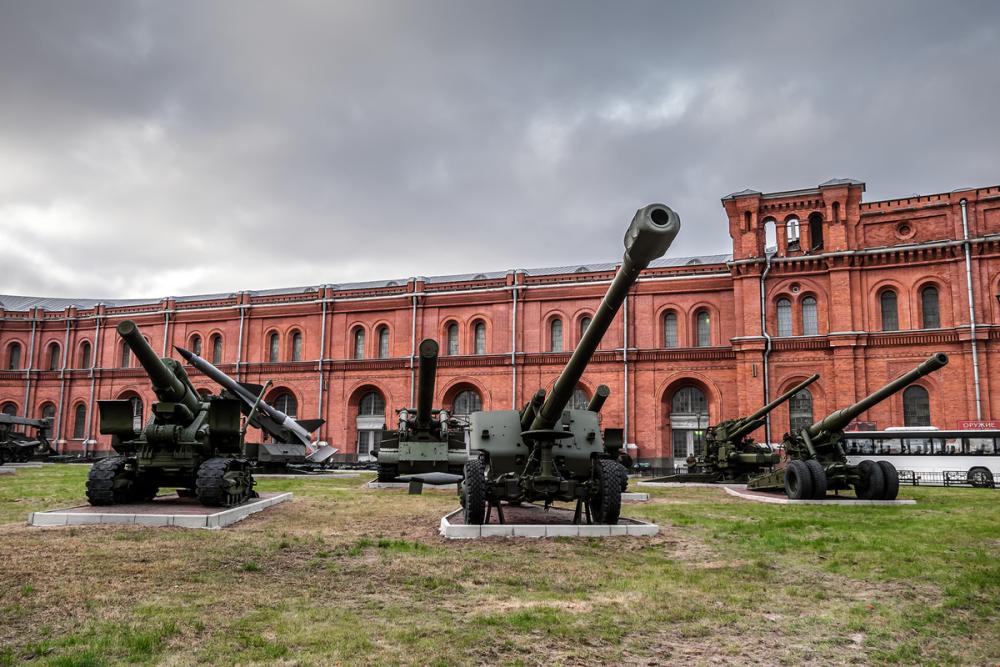 Фотография музея артиллерии