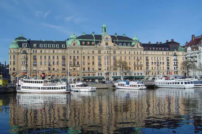 Королевский тур по каналам Стокгольма