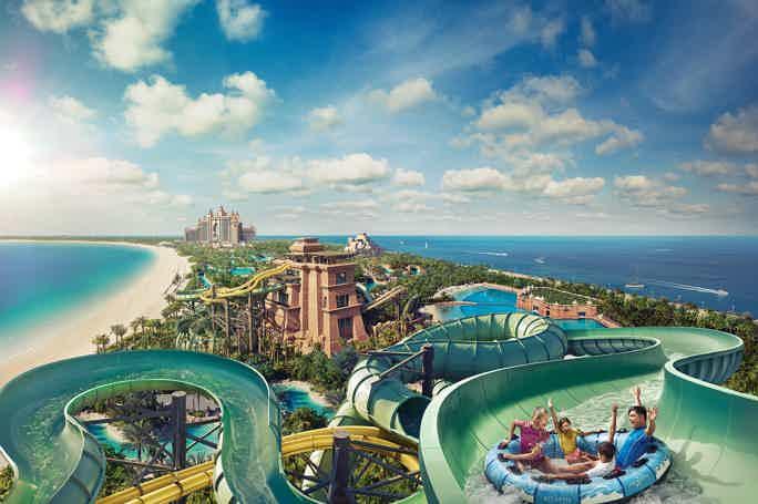 Атлантида на песке: билет в аквапарк Aquaventure Atlantis с трансфером