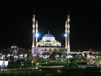 В Грозный – столицу Чеченской республики