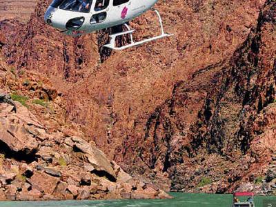 Лас-Вегас. Вертолётная экскурсия на Гранд-Каньон №4. С высадкой на Гранд-Каньоне.