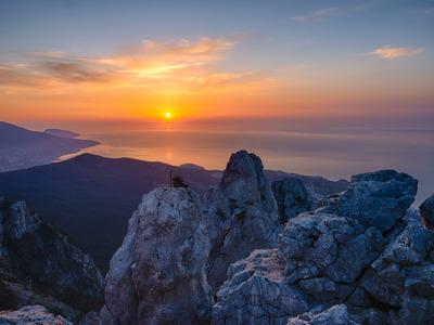 Рассвет на вершине Крыма — Ай-Петри!