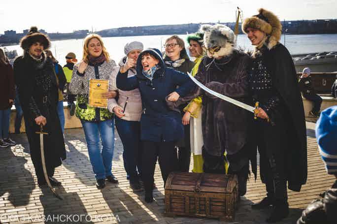 Kazan Cat Tale, quest-excursion