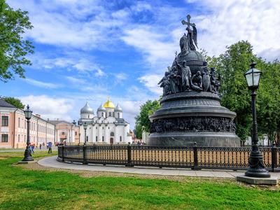 По Великому Новгороду с посещением Кремля и Ярославова дворища