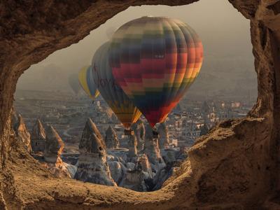 Большое путешествие в Каппадокию