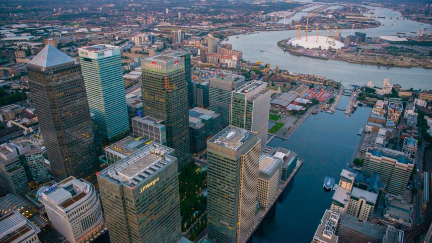 Онлайн-экскурсия «Как устроен деловой квартал Лондона — Канэри Уорф?»