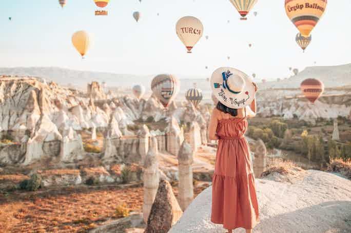 Путешествие в cказочную Каппадокию из Антальи на 2 дня