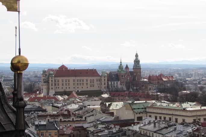 Детская экскурсия по королевскому Кракову