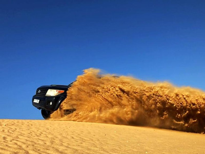 Extreme Safari в пустыне