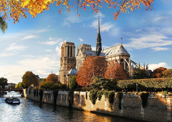 Онлайн-экскурсия «От собора Нотр-Дам до Лувра: прогулка по набережным Сены»