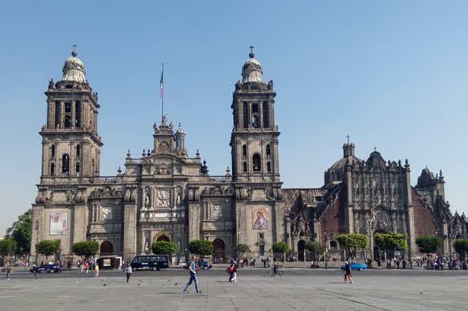 Обзорная экскурсия по центру Мехико