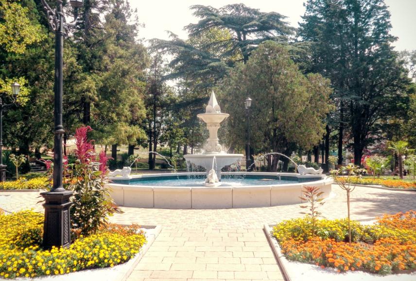 Фото Городской парк в Туапсе.