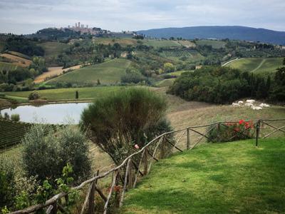 Тосканские пейзажи, вино Кьянти и традиционный сыр