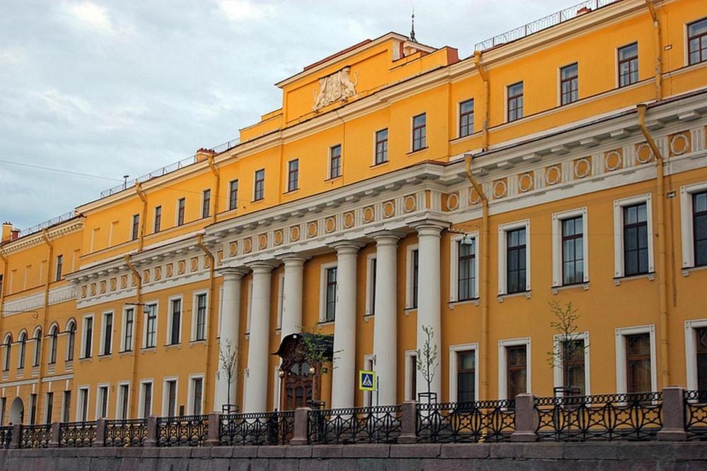 Фотография Юсуповского дворца
