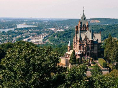 Бесплатная онлайн-экскурсия «Бонн со скалы дракона»