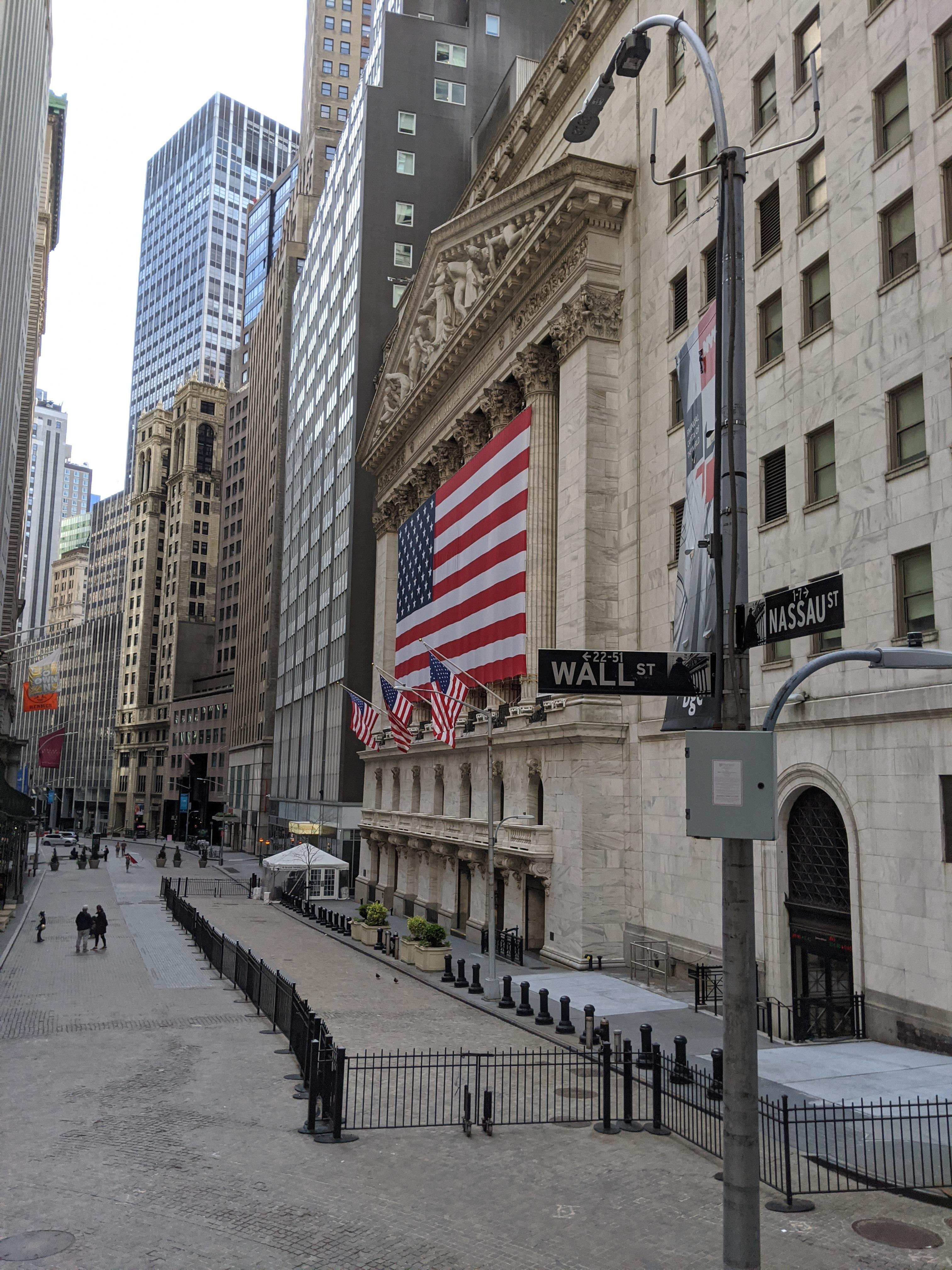 Онлайн-экскурсия по Финансовому району Нью-Йорка