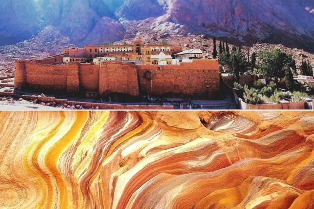 Гранд-сафари (Цв.каньон + монастырь Св.Екатерины) - временно не проводится