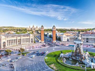 Бесплатная онлайн-экскурсия «Площадь Испании — ворота Барселоны»
