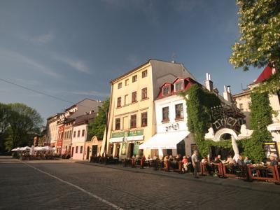 Казимеж — еврейский квартал Кракова