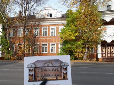 Вологда деревянная