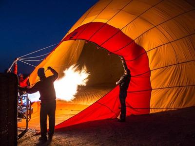 Марракеш для своих: полёт на воздушном шаре