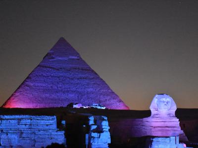 Шоу «Звук и Свет» на Пирамидах