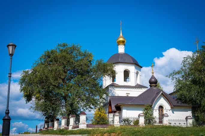 История острова-града Свияжск