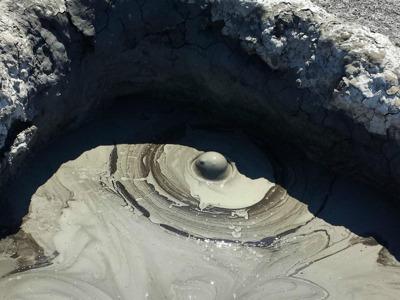 Грязевый вулкан Шуго