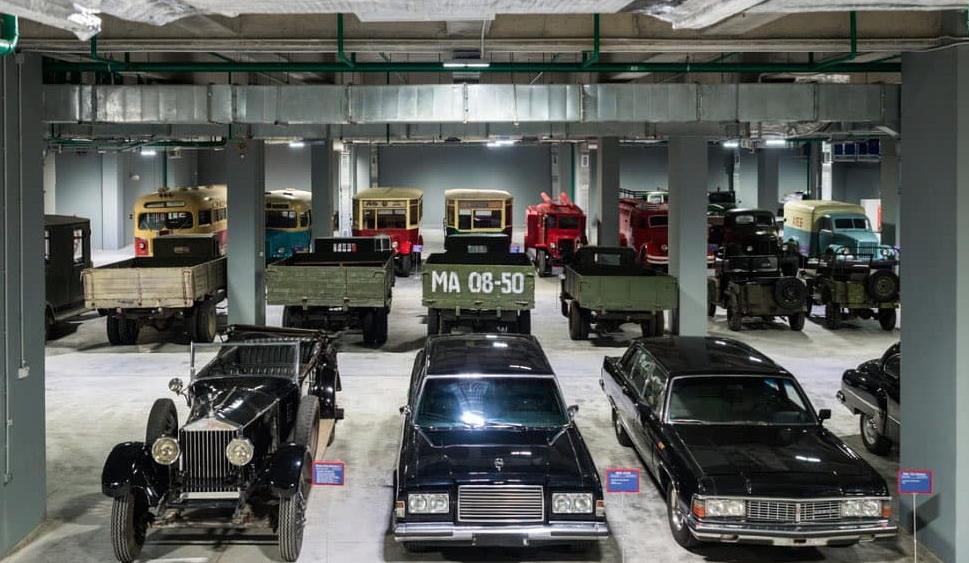 Музей ретро автомобилей на Мосфильме