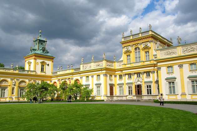 Экскурсия в Вилянувский дворец