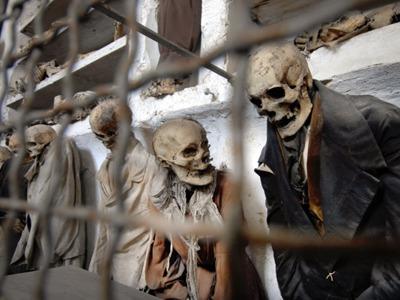 Катакомбы Палермо. Экскурсия в музей мертвых