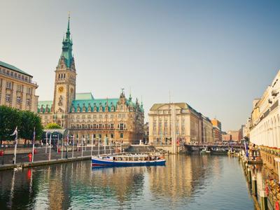 Автомобильно-пешеходная экскурсия по Гамбургу