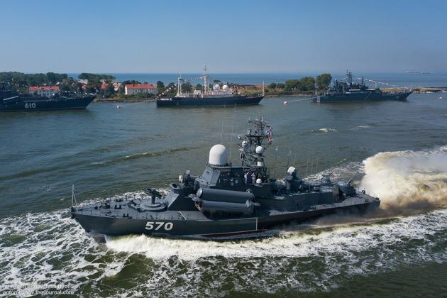 Военная база на самом западе России