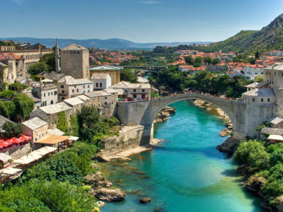 Мостар и водопады Кравице