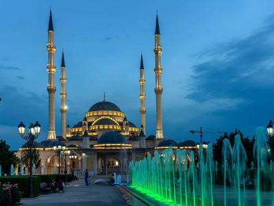 Величественный город Грозный