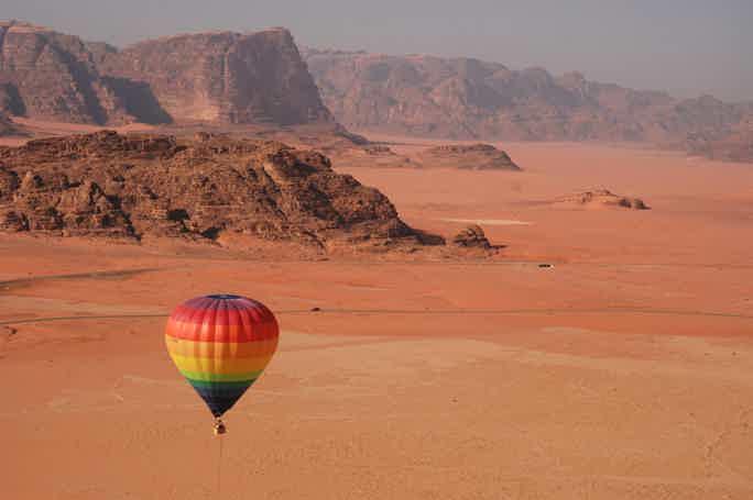 Волшебная пустыня Вади Рам